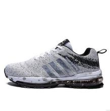 2018 Men Running Shoes Breathable Outdoor Sports Shoes Lightweight Sneakers for Women Comfortable Athletic Training Footwear цены онлайн