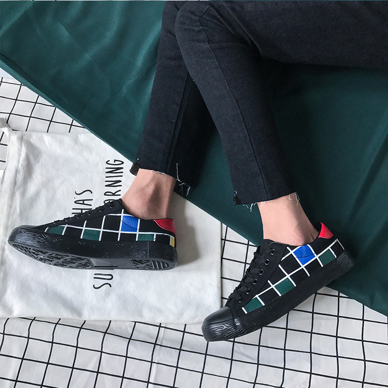 CAPELLAS Fashion Leisure Pria Sepatu Kanvas Mens Sepatu Kasual - Sepatu Pria - Foto 3