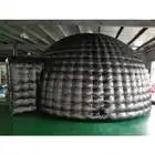Schwarz Aufblasbare Aufblasbare, zelt aufblasbare Hohe qualität mit kostenloser gebläse