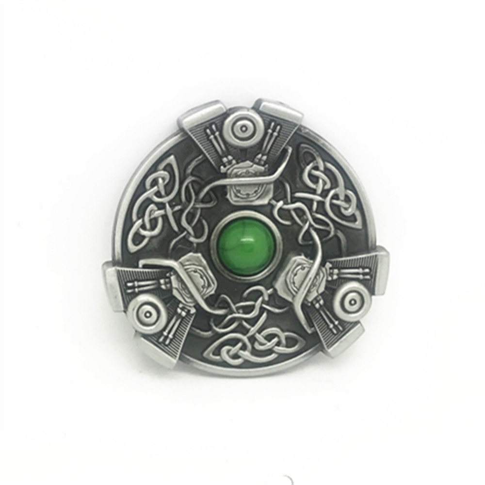 Western Cowboy Belt Buckle Ghost Long Hair Men's Creative Leisure Clothing Buckle Suit 4.0 Belt Manufacturer Wholesale