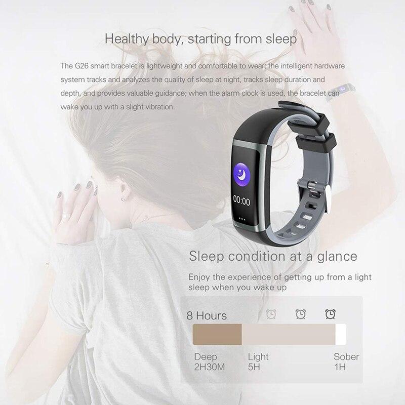 Image 4 - Цветной экран, умный Браслет для здоровья, измеритель артериального давления, мужские Т образные пульсометр, фитнес трекер, водонепроницаемые мужские часы + коробка-in Смарт-браслеты from Бытовая электроника on AliExpress - 11.11_Double 11_Singles' Day