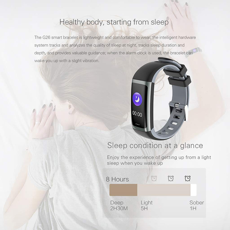 Image 4 - Color Screen Smart Band Health Bracelet Blood Pressure Measurement Heart Rate Monitor Fitness Tracker Waterproof Men's Watch+box-in Smart Wristbands from Consumer Electronics