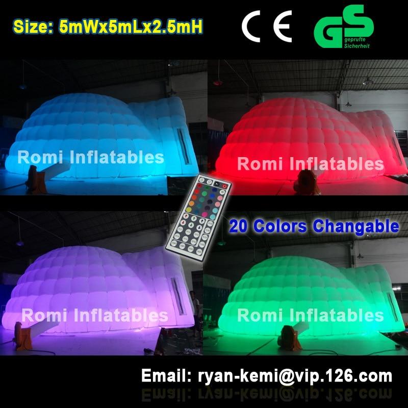Χρώμα αλλαγής LED φωτισμένη φουσκωτή - Ψυχαγωγία και υπαίθρια αθλήματα - Φωτογραφία 1