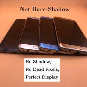 Image 4 - 5.5 Originele Super Amoled Display Voor Samsung Galaxy S7 Rand G935 SM G935F G935FD Lcd scherm Touch Digitizer Met Frame