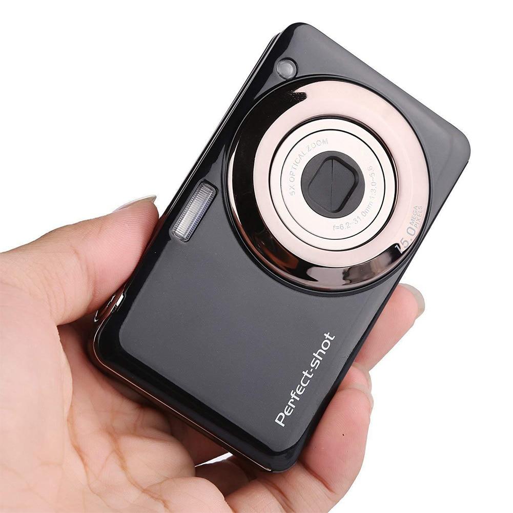 Caméra numérique haute définition 24MP enregistrement vidéo batterie au Lithium Zoom optique détection de visage Portable cadeaux pour enfants Photo compacte