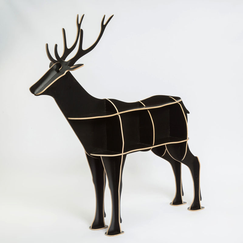 Free shipping Christmas European Nordic style creative deer elk table creative home decor hotel restaurant cafe decoration christmas home decor snowman double table mat