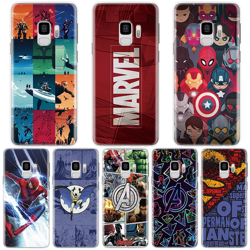 Cool Marvel Avengers Tpu Case For Samsung Galaxy J4 J6 Plus J8 2018 J3 J5 J7 Prime Max 2015 2016 2017 Case For Samsung J6 Plus Terrific Value Home