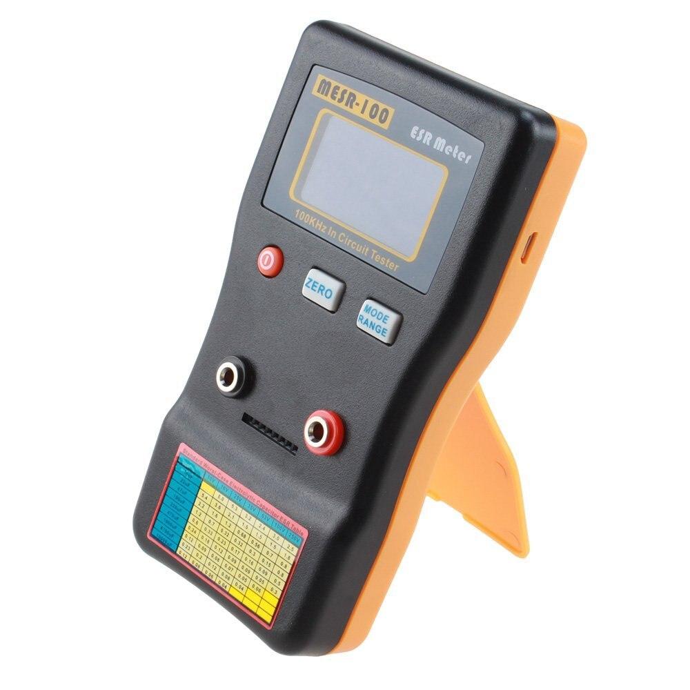 LIXF-MESR100 V2 AutoRanging In Circuit ESR Condensatore del Tester del Tester (Fino a 0.001 per 100R)LIXF-MESR100 V2 AutoRanging In Circuit ESR Condensatore del Tester del Tester (Fino a 0.001 per 100R)