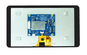 Image 3 - New 7 inch Touch Screen Display with 10 Finger Capacitive Touch w/ DSI Driver Board Case For Raspberry Pi 4 3 B+