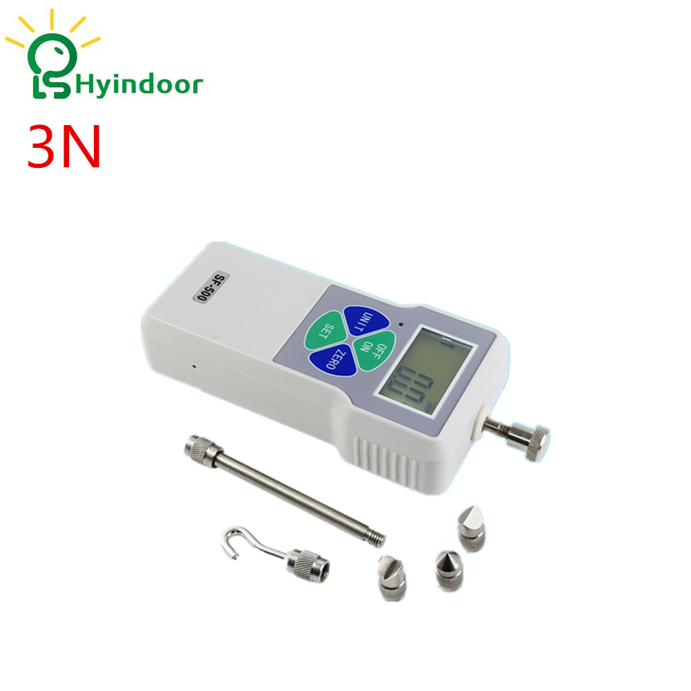 3N digital portable push pull force gauge dynamometer force tester  3n digital portable push pull force gauge dynamometer force tester