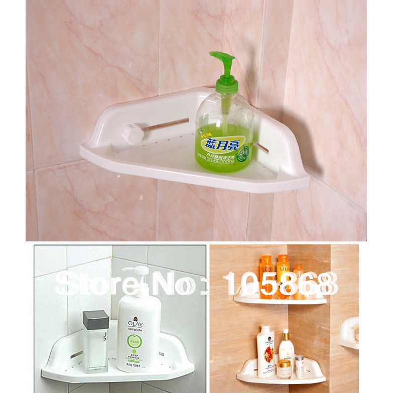 2015 new powerful corner tub shelf bathroom racks shower bath storage kitchen sucker low price Bathroom shower designs with price