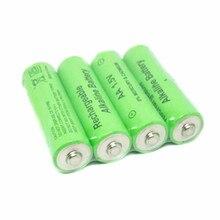 4 шт./лот бренд AA перезаряжаемая батарея 3000mah 1,5 V Новая Щелочная аккумуляторная батарея для Светодиодный светильник mp3