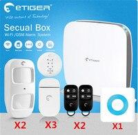 CUBE Дизайн 433 мГц Wi Fi GSM сигнализация Системы умный будильник Системы etiger GSM сигнализация Системы