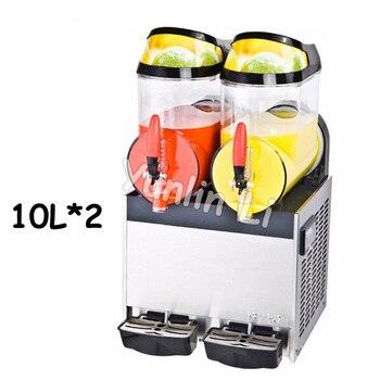 Commercial 10L*2 Tank Frozen Hot Cold Drink Beverage Milk Juice Machine Fruit Juicer Dispenser