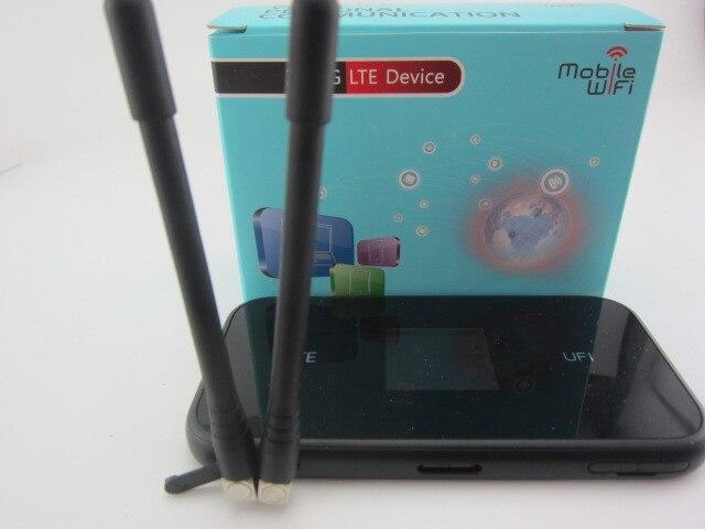 Zte MF980 UFi Мобильная точка доступа 4G + LTE cat9 WiFi роутер плюс 2 шт антенна