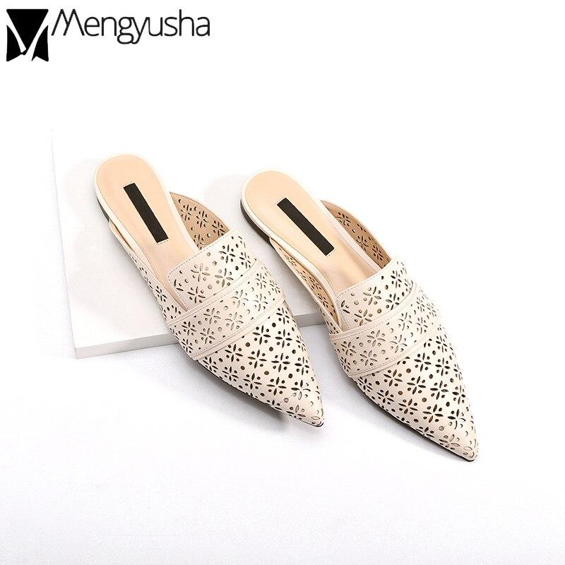 Velvet Genuine Leather Slipper Crystal New Women/'s Beaded Embroidery Snake Shoes