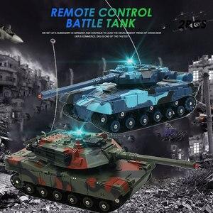 Battle Tank Rc Tank Car Remote