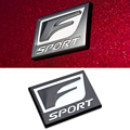 Car Styling 3D Aluminum Fsport Car Sticker Metal Emblem Badge Accessories For Lexus RX ES IS IS200 IS300 RX300 RX330 RX350 CT200