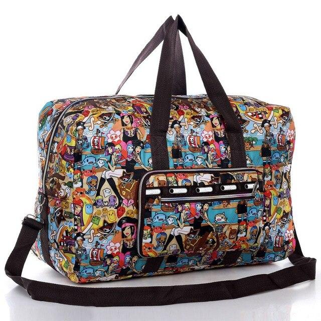 Women Luggage Travel Bags Lesport Style Folding Handbag Maletas Female Outside Large Waterproof  Nylon Bag Lady Duffle Bag Bolsa