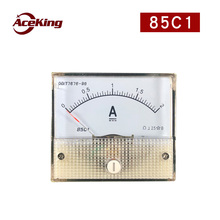 85C1 direct current ammeter mechanical meter direct current analog meter head 50 100 200 500MA 1A 2A 5A 10A 20A стоимость
