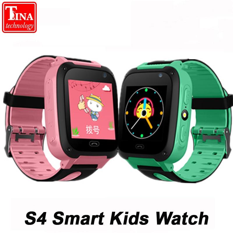100 Original Waterproof S4 Smart Children Watch Camera