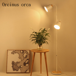Żywa podłoga w pomieszczeniu lampa amerykańska nowoczesna prosta kreatywna lampa wędkarska sypialnia studium pionowa lampa biurkowa opłata pocztowa za darmo