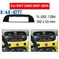 11-282 автомобильный DVD/CD для FIAT (500) 2007-2015 Радио Стерео фасции Панель рамка адаптер Комплект 1 Din