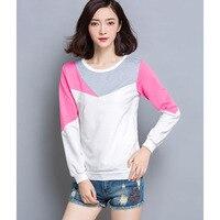 Tee Shirt Femme Long Sleeve T Shirt Women 2016 New Cotton T Shirt Women Tshirt Camisetas