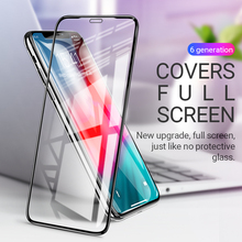 hoco tempered glass for iphone X Xr Xs max full screen protector anti fingerprint smartphone protection phone protective