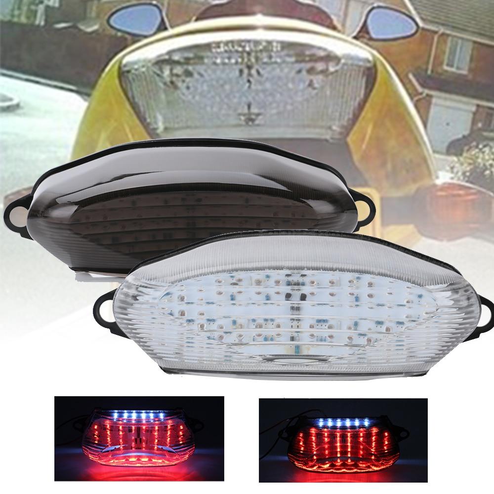 SPEEDPARK For HONDA VTR1000 VTR 1000 Integrated LED Tail Light Turn Signal Blinker 1997-2005 97-05 Motorcycler Accessories