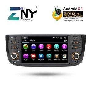 Image 5 - Android 8.1 Car Audio Video Per La Fiat grande punto Linea 2012 2013 2014 2015 Radio FM RDS WiFi di Navigazione GPS telecamera posteriore No DVD