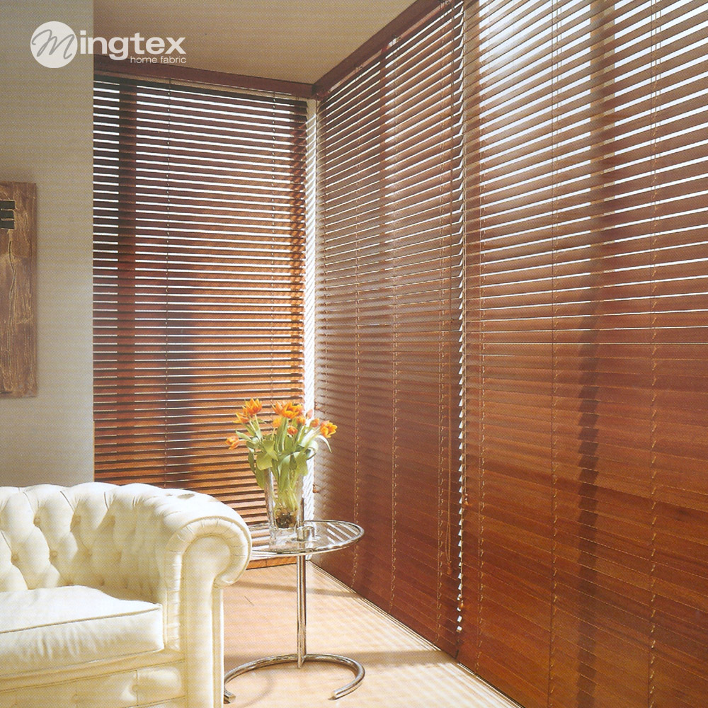 2014 New Rope Sale Real Freeshipping Plain Cortinas Persianas Blinds Waterproof Wood Curtain