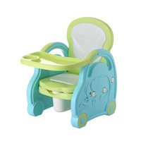 Baby Potty Portable Plastic Cartoon Child Toilet Child Urinal Training Kids Toilet Seat Baby Children's Potty Chair