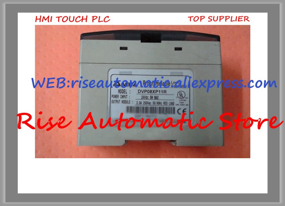 New Original Programmable Controller Module DVP08XP11R 8 point 4DI 4DO Relay High-quality