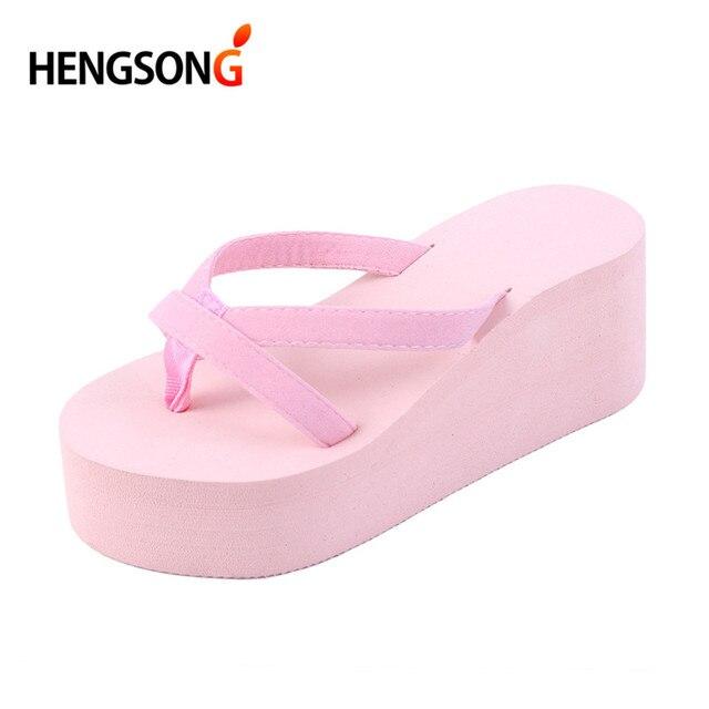 712e038c8134c 2018 Summer Sandals Wedges Women Slip Flip Flops Beach Sandals Shoes  Fashionable Casual Sandals Female Ladies Shoes