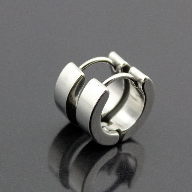 Hoop Piercing Round Earrings