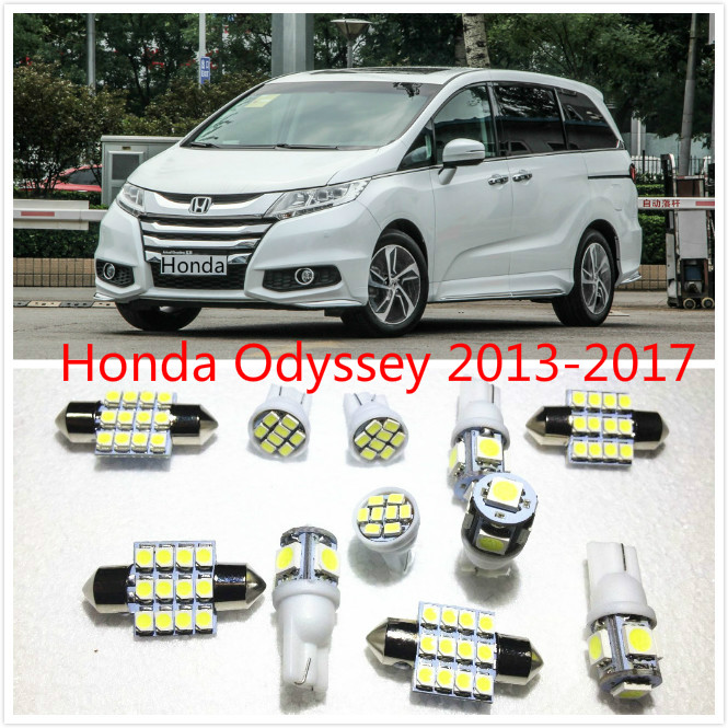 11 Set White Led Lights Interior Package Map Dome For Honda Odyssey 2017 In Car Headlight Bulbs From Automobiles Motorcycles On Aliexpress