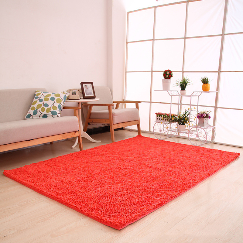 70x180cm 28quotx71quot Chenille Microfiber Floor Rugs For Living Room Large Machine Washable