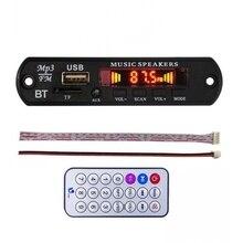 DC 12 V Bluetooth 4.0 lossless MP3 board giải mã MP3 APE FLAC Máy Nghe Nhạc AUX TF Card Fm Radio Cho Xe loa sửa đổi