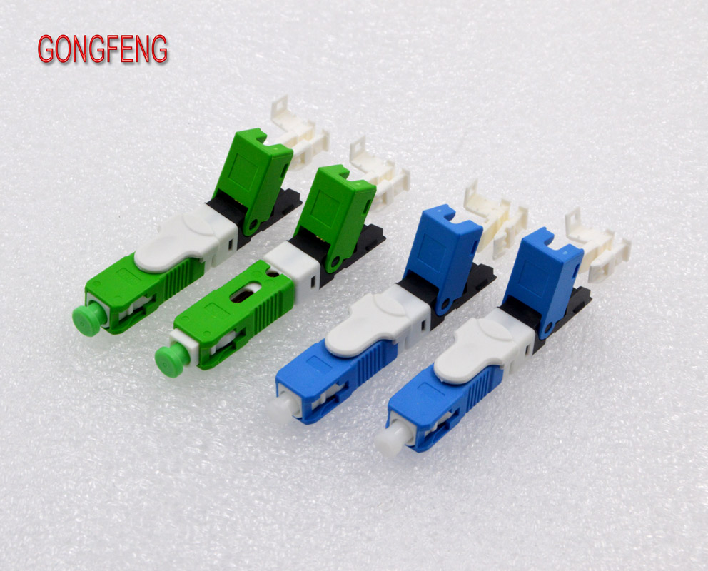 Image 5 - GONGFENG Hot Sell 100PCS NEW Optic Fiber Quick Connector FTTH SC Single Mode Fast Connector Special Wholesale-in Connectors from Lights & Lighting