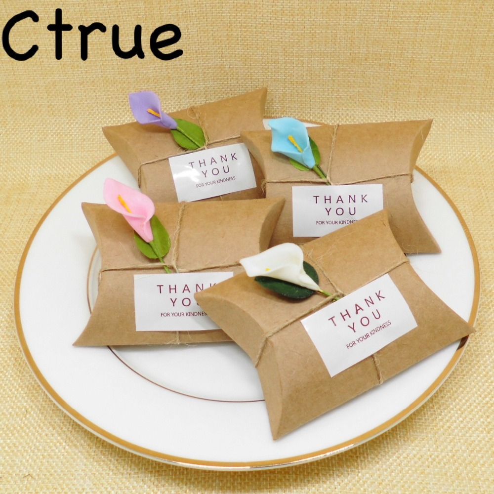 12PC Wedding Favors And Gifts Box Flower Elegant Luxury
