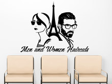 Free Shipping Wall Sticker Persons With Tower Home Room Decor Fashion Mural Quotes Cool Vinyl Poster Q-22