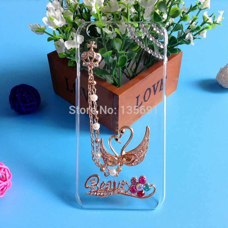 For OPPO Mirror 5 5s A51 case Transparent Rhinestone phone cases for Mirror 5s protective case clear Hard case for OPPO A51