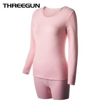 Conjuntos de ropa interior térmica de invierno para mujer con forma de cuerpo delgado para mujer Pijamas largos para mujer ropa térmica de invierno