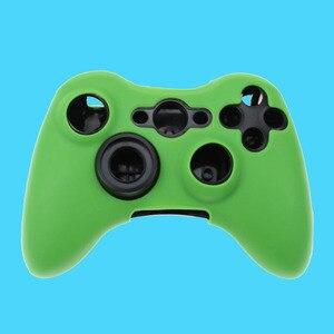 Image 2 - جراب سيليكون لجهاز Xbox 360 ، 11 لونًا ، جراب مطاطي ناعم لوحدة تحكم Xbox360 ، جل واقي