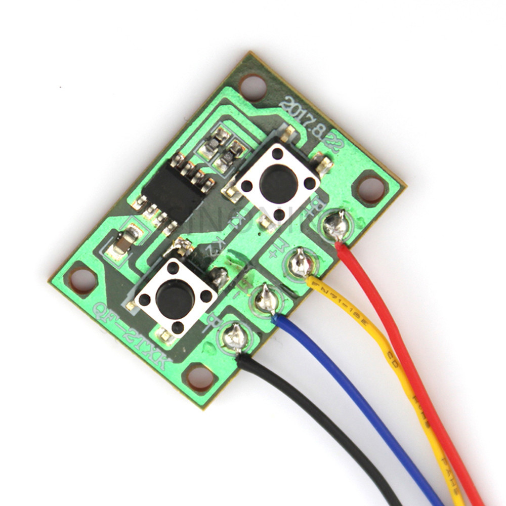 Two Ways Electronic Version Of Two-channel Wired Remote Control Board Controllable One Motor Forward And Reverse #3