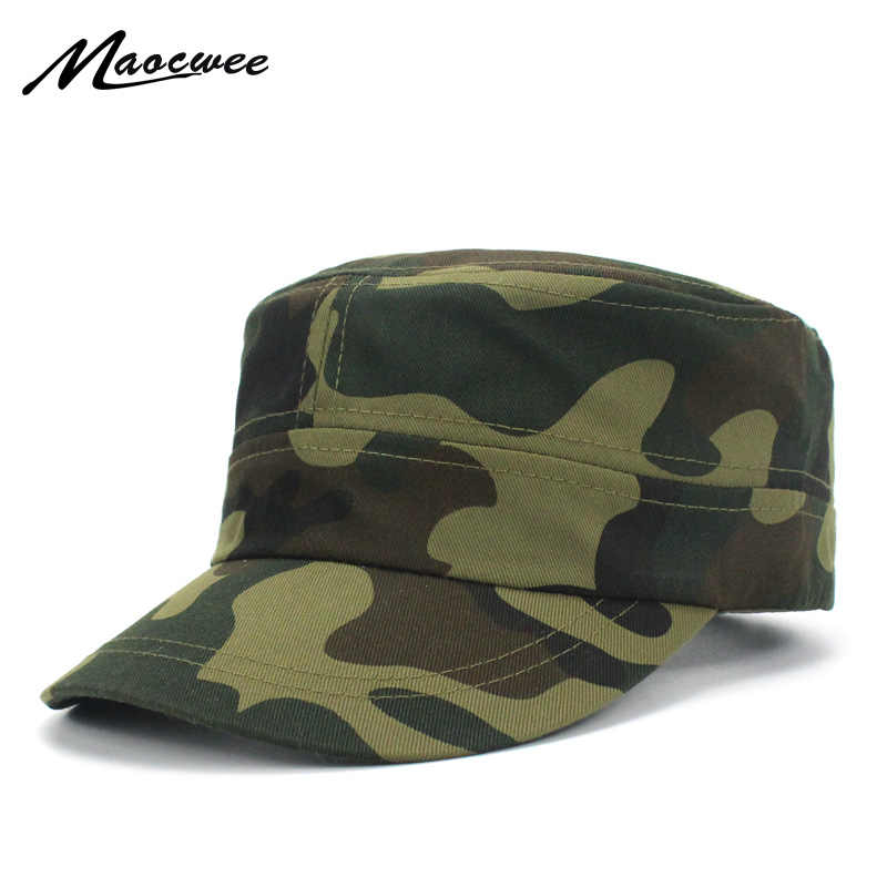 2cad3db3248 Camo Camouflage Military Hats Men Tactical Cap Snapback Hat High Quality  Bone Dad Hat Trucker Navy