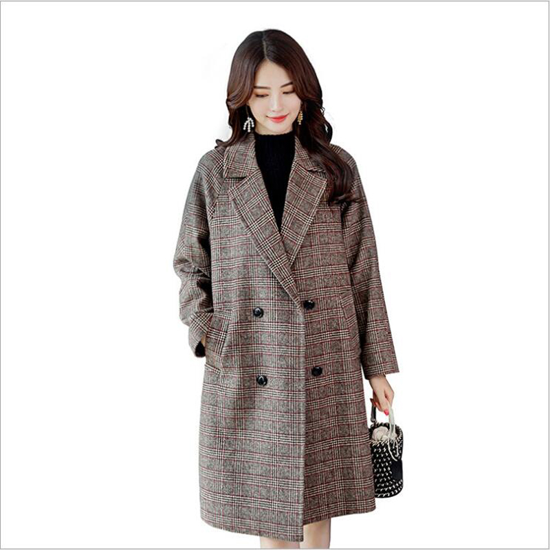 Fashion Coat Women Trench Coat For Women Winter Clothes Long Outerwear  manteau femme hiver abrigos mujer invierno 2018
