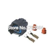 10PCS 2pin connector waterproof Car Auto with terminal block DJ7024B-2-21