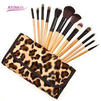 10Pcs Professional Eyeshadow Brush Soft Pony Hair Makeup Brushes Set Eye Make Up Cosmetic Brush For